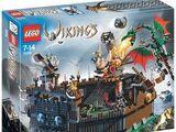 7019 Viking Fortress against the Fafnir Dragon