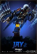 The LEGO Ninjago Movie Poster Jay Ign