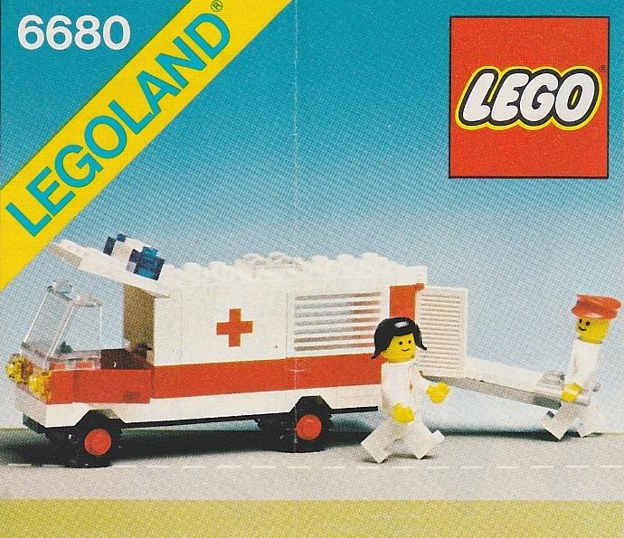 6680 Ambulance Brickipedia Fandom Powered By Wikia