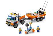 7726 Le camion des garde-côtes et son hors-bord