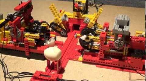LEGO Eier Pellmaschine egg peeling machine --- üfchen