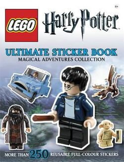 LEGO Harry Potter Magical Adventures Ultimate Sticker Book