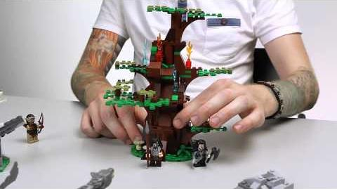 LEGO The Hobbit - Attack of the Wargs Designer Video