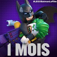 Vignette Batman Movie 1 mois
