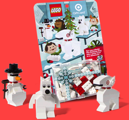 4659758 Target Official North Pole Builder's Guide Gift Card ...