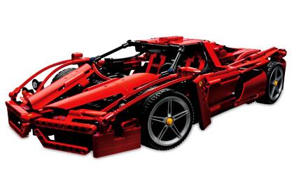 8653 Enzo Ferrari 1 10 Brickipedia Fandom Powered By Wikia