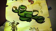 Ninja vert prophétie-La légende des serpents
