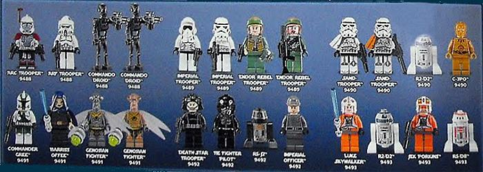 Image - 2012-LEGO-Star-Wars-Minifigures.jpg | Brickipedia | FANDOM ...