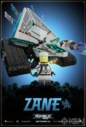 The LEGO Ninjago Movie Poster Zane Ign