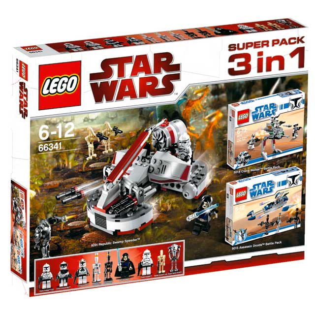 66341 Star Wars 3 in 1 Superpack | Brickipedia | FANDOM powered by Wikia
