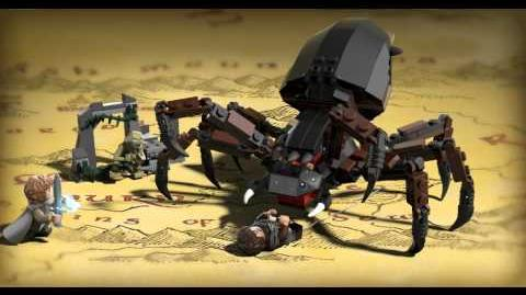 LEGO The Lord of the Rings - Shelob Attacks