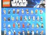 Star Wars 2011 LEGOLAND California Minifigure Poster
