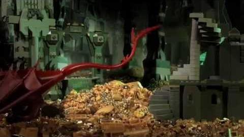 LEGO The Hobbit The Aggravation of Smaug