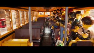 The LEGO Ninjago Movie BA-Bus scolaire