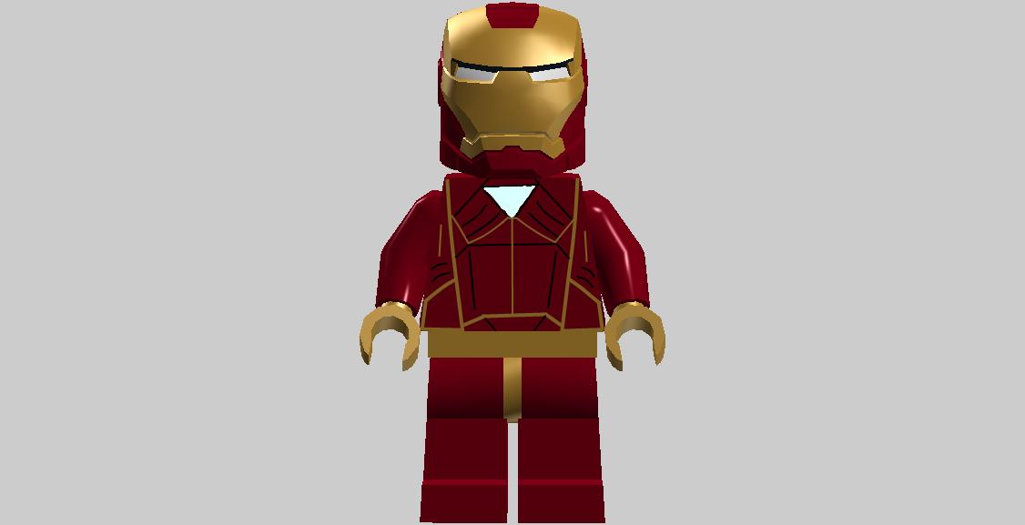 lego iron man mark 23 - photo #39