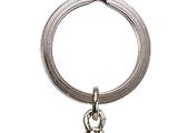 851352 Titanium Zane Key Chain