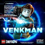 LEGO Dimensions Peter Venkman bio