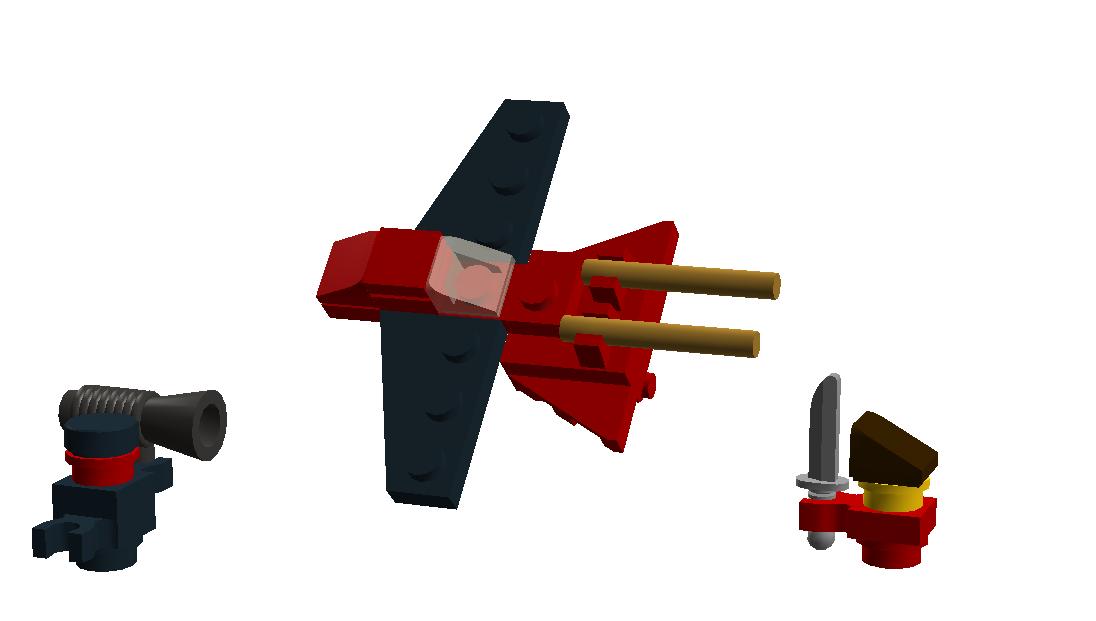 Custom Micro Kai Fighter Brickipedia Fandom