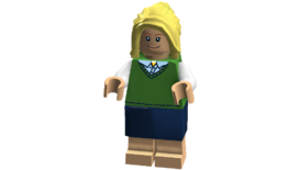 The Big Bang Theory minifigures (Penny Cheesecake Factory outfit)