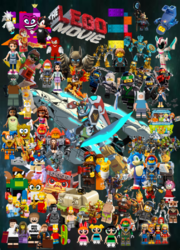 The lego movie 3 poster