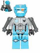 70700 Blauer Roboter