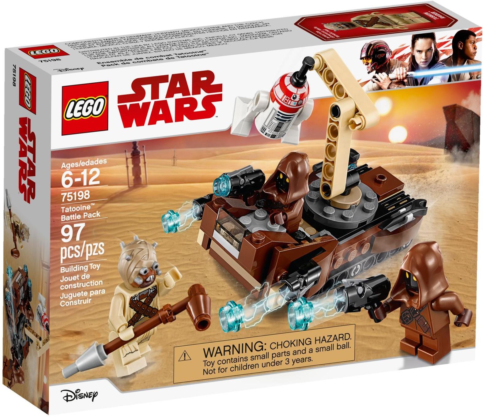 Lego Star Wars Episode A New Hope Tatooine Battle Pack 75198 Building Kit