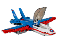 76076 La poursuite en avion de Captain America 3