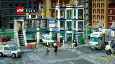 LEGO CITY Thème Commissariat de Police