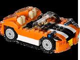 31017 La décapotable orange