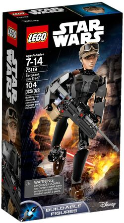 75119 Sergeant Jyn Erso Box