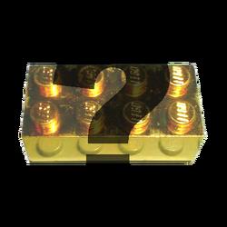 Goldbrick-questionmark