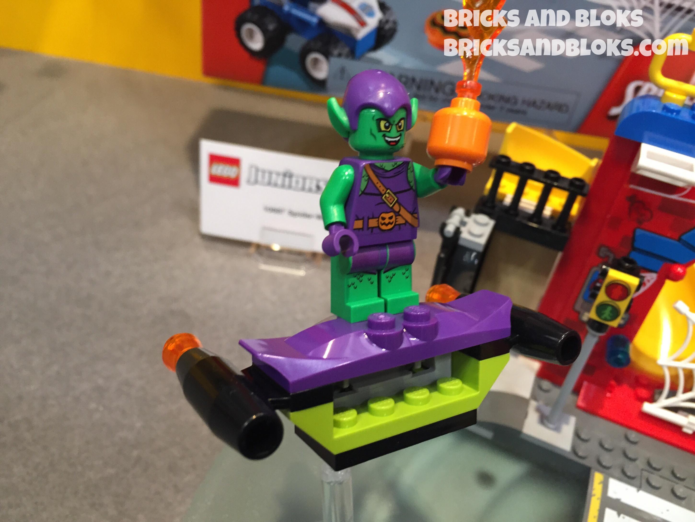 Building Toys Genuine Lego Marvel Super Heroes 2015 Green Goblin