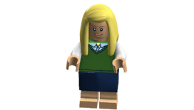 The Big Bang Theory minifigures (Penny Cheesecake Factory outfit 2)