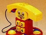 2070 Ring Me Rabbit Telephone