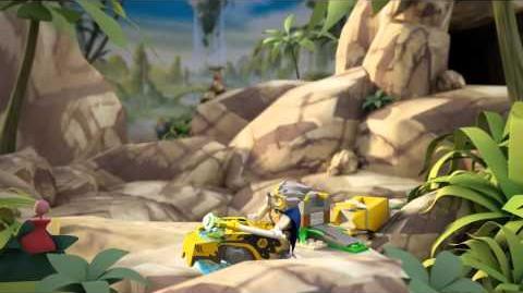 LEGO Chima - 70108 Královské lože