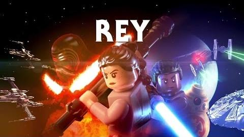 LEGO Star Wars The Force Awakens - Rey Character Vignette Trailer (2016)