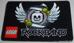 Pin50 Lego Rockband, San Diego Comic-Con 2009 Exclusive