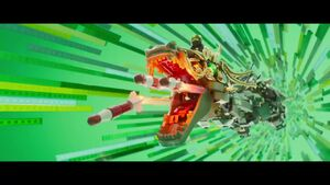 The LEGO Ninjago Movie BA-Attaque du dragon