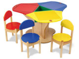 4509 3-Seat Playtable