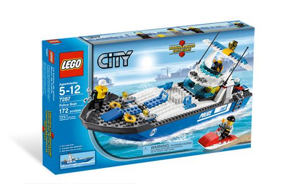 7287 Police Boat Brickipedia Fandom Powered By Wikia