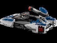 75022 Speeder Mandalorian 3