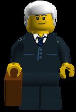Astor City Bank Worker
