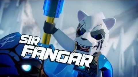LEGO CHIMA - Laval vs Sir Fangar