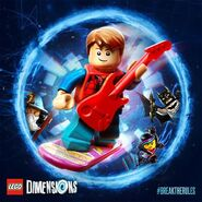 LEGO Dimensions Marty McFly 2