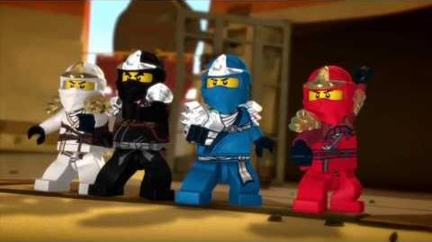 LEGO Ninjago The Beginning to 2014