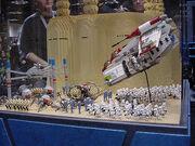 Star Wars Celebration II - Lego Geonosis battle