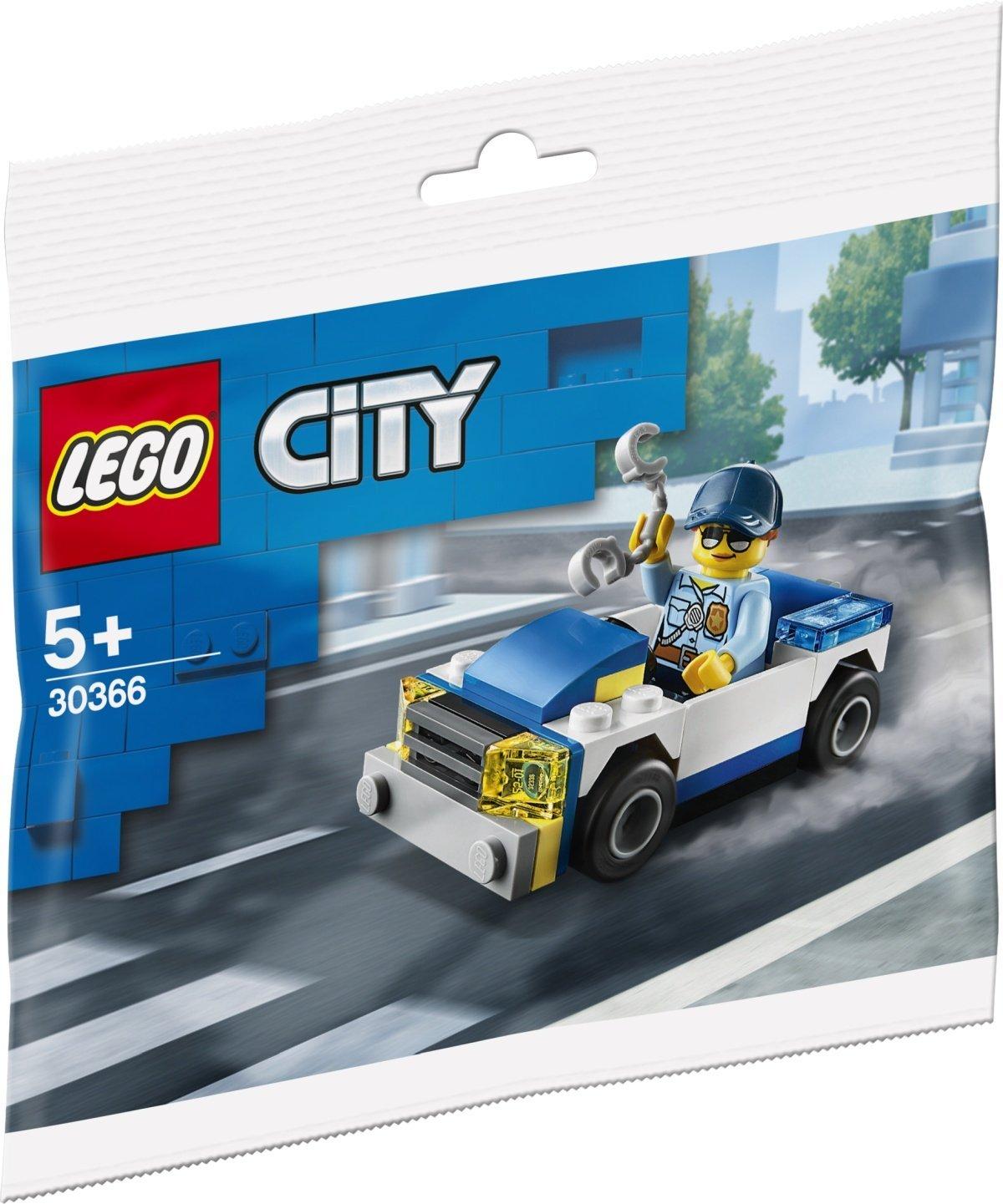 LEGO City 60270 Great Vehicles Police Station Brick Box New Building Kit