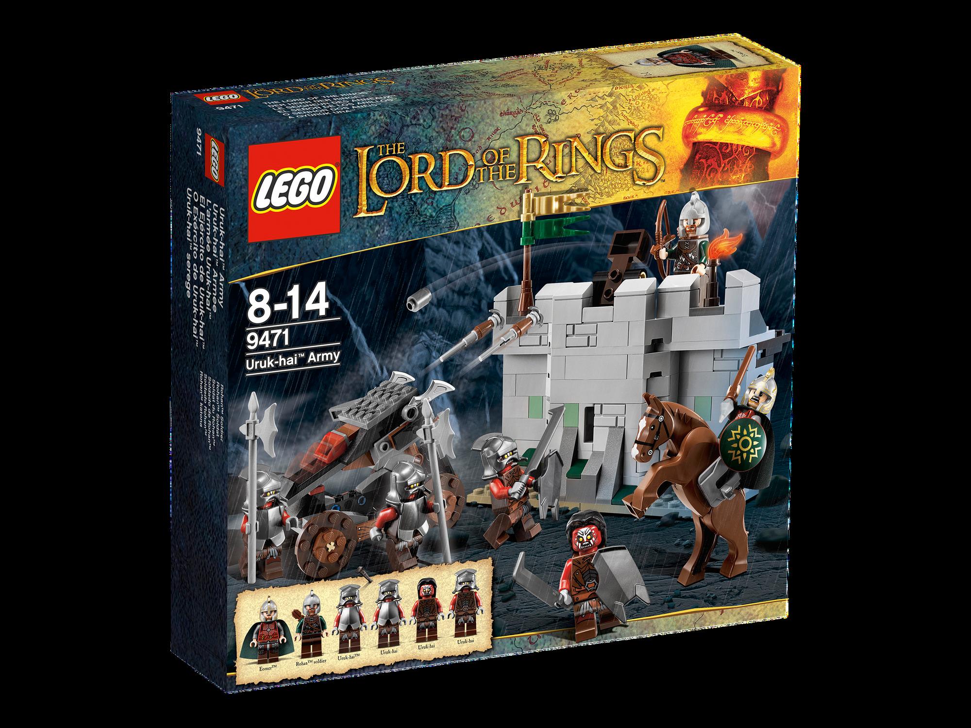 9471 Uruk Hai Army Brickipedia Fandom Powered By Wikia Lego The Lord Of Rings Battle At Black Gate 79007