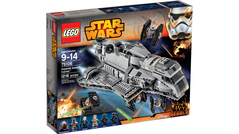 75106 Imperial Assault Carrier | Brickipedia | FANDOM ...