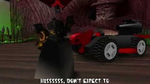 LEGO Racers - Basil The Batlord's Opening